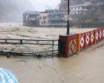 颱風梅姬襲台 新北烏來成孤島