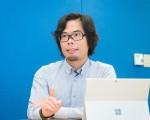 台湾微软营运暨行销事业群总经理矶贝直之。(陈柏州/大纪元)