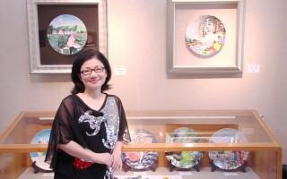 孙德馨瓷画教学不辍  让艺术走入大众生活