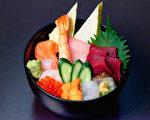 五彩繽紛的生魚片 (壽司田提供)