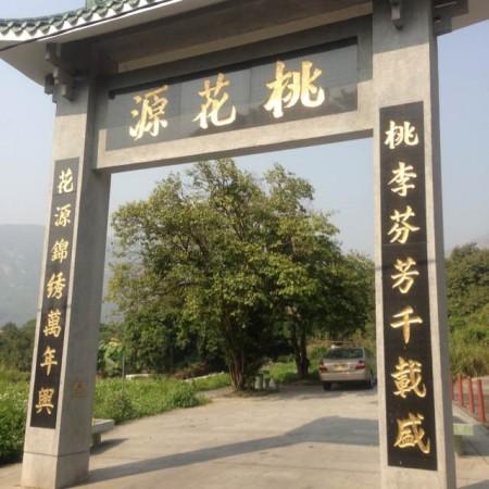 """陶氏建了一道""""桃花源""""围墙,以保护五柳堂陶氏宗祠风水局。(采访者提供)"""