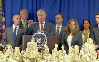 紐約繳獲450萬象牙制品 創歷史記錄