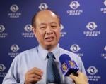 五方生物科技公司董事长林国华。(李贤珍/大纪元)