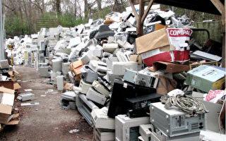电子废弃物堆积如山成难题