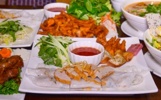 湾区越南餐馆Banh Cuon Bac Ninhの一道七尝
