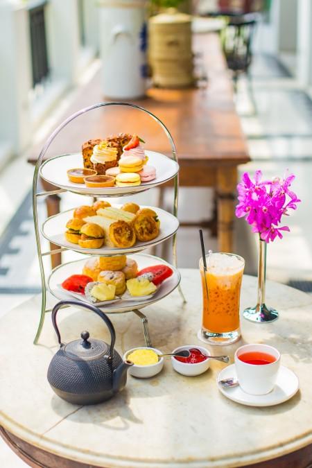 英式下午茶開始在中國富人中風靡。(fotolia)