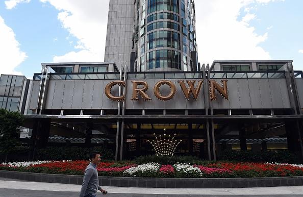 一名華裔澳洲人在2005至2013年間在美國皇冠賭場的賭資高達8.5億美元,他被懷疑進行非法洗錢活動。圖為金冠賭場。(INDRANIL MUKHERJEE/AFP/Getty Images)