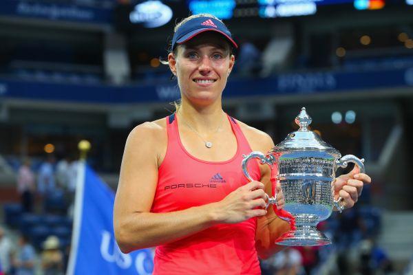德国女将克柏夺生涯首座美网后冠