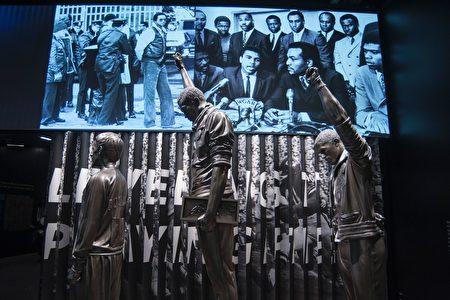 非洲裔美國人歷史和文化史密森國家博物館。 (PRESTON KERES/AFP/Getty Images)