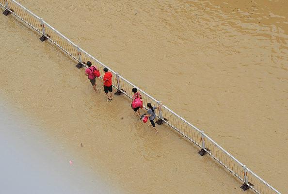組圖:今年最強颱風莫蘭蒂重創閩浙 逾十死