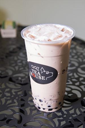 熊貓奶茶(Panda Milk Tea)。(石嵐/大紀元)