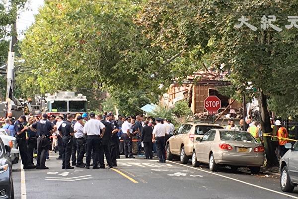 纽约布朗士爆炸 消防队长殉职 或波及华人