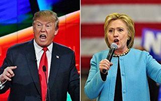 民调:反川普或希拉里 成选民投票最大动因