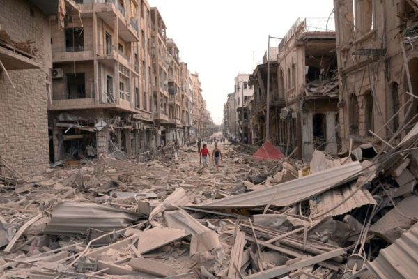 俄軍空襲敘利亞一周年 逾九千人喪生