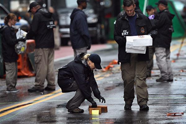 紐約爆炸案嫌犯通過擺頭接受當局問訊