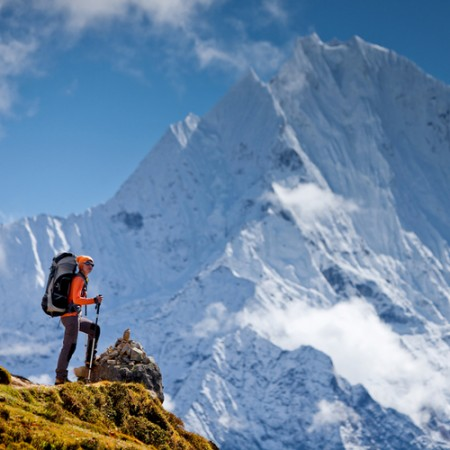 攀岩能釋放生活憂慮和壓力,同時能夠鍛鍊體能與毅力。(fotolia)