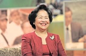 前政務司司長陳方安生欣賞胡國興願意出來競選,認為胡參選是想團結香港各個階層,而這正是梁振英無法做到的事;又說對方是一個「不偏不倚」的人,原則上值得支持。(藍小鳳/大紀元)