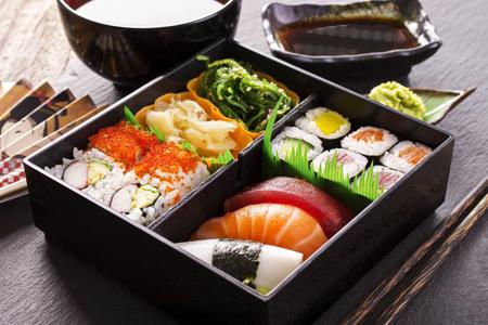 寿司午餐盒。(Enjoy 提供 )