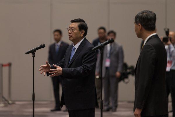 陳思敏:張德江六中會後坐等被問責