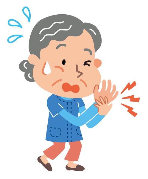 aged arthritis babushka body grandmother grandparent hand illustration marode old man pain painful rheumatism woman wrist