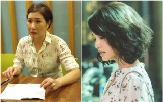 左圖為《荼蘼》編劇徐譽庭,圖右為該劇女主角楊丞琳。 (好風光/大紀元合成)