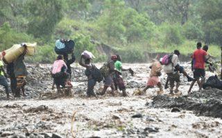 组图:飓风马修侵袭海地 至少21人丧生