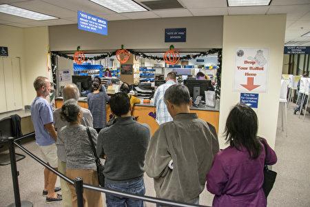 大选日临近 硅谷圣县选务处吁提前投票