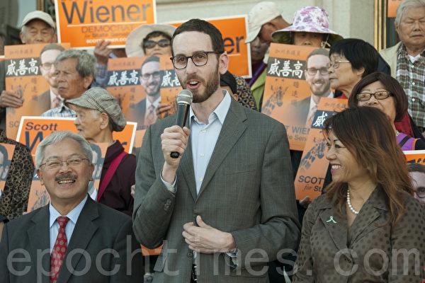 旧金山华裔社区及官员支持威善高竞选加州参议员