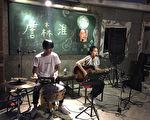 图右为创作歌手詹森淮表演资料照。(好多音乐提供)