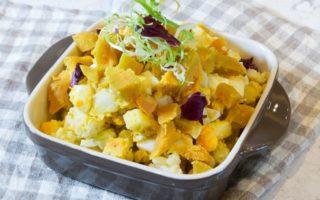 地瓜马铃薯蛋沙拉