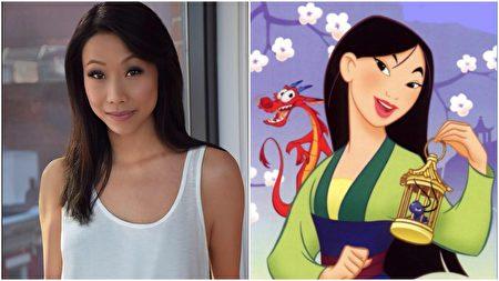 臺灣女演員胡婷婷(左)和花木蘭(右)。(大紀元合成)