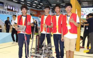 台TDK機器人決賽  高應大南榮科大奪冠