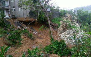豪雨酿灾 台新北基隆民宅地基遭掏空