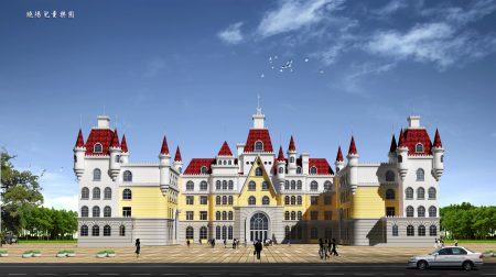 張澤建築方案作品——幼兒園。