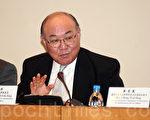 退休大法官胡國興,今日下午3時半將舉行新聞發佈會,公佈參選下屆行政長官事宜。(大紀元資料圖片)