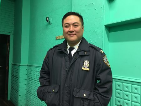62分局副局长陈志杰。