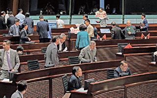 香港建制派製造流會阻宣誓
