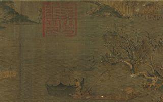 古代漁家生活的紀錄片──《江行初雪圖》