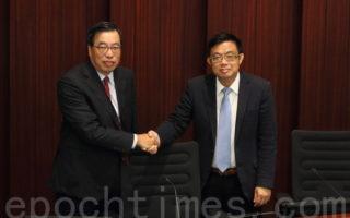 香港立会选主席 泛民批中联办操控
