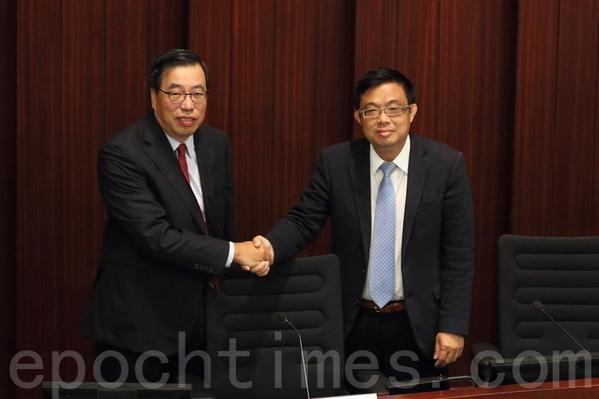 香港立會選主席 泛民批中聯辦操控