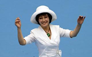 著名演員劉曉慶。(WANG ZHAO/AFP/GettyImages)
