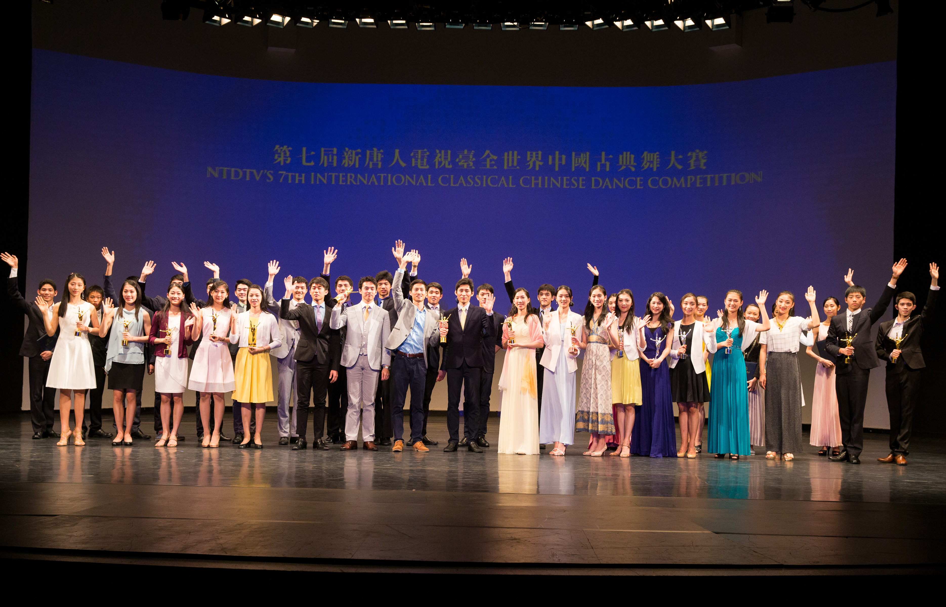 中國古典舞大賽獲獎名單揭曉 七人獲金獎