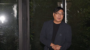 台灣資深媒體人楊憲宏在座談會上發言。(倪爾森/新唐人)