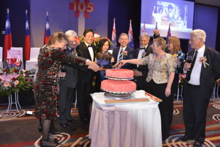 奧克蘭舉辦中華民國105年國慶酒會