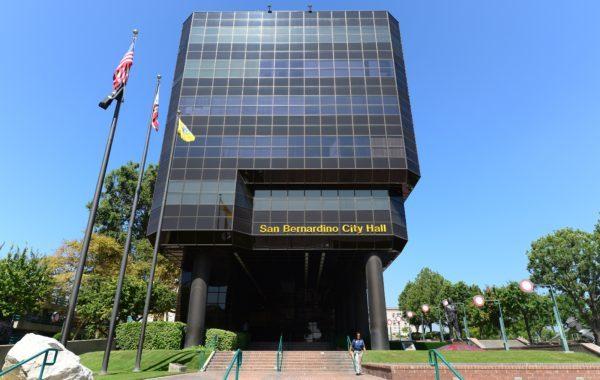 聖貝納迪諾市政廳躲地震 關閉2日