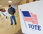 5月3日在美国大选初选中投票的选民。(Getty Image)