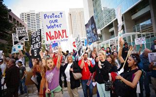 美原住民抗議油管計劃 警驅離並逮捕141人