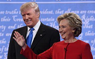 全美民調:希拉里領先12% 獲半數選民支持