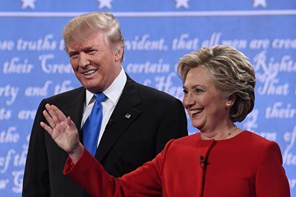 全美民調:希拉莉領先12% 獲半數選民支持