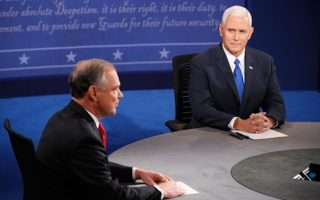美副總統候選人辯論 彭斯為川普扳回一城